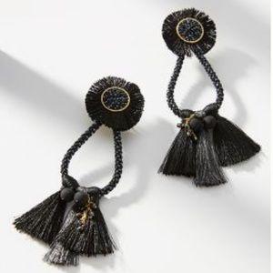 NWT Anthropologie Pompa Drop Earrings